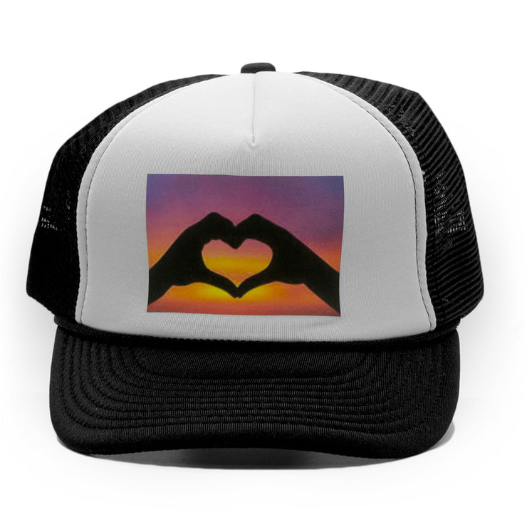 Sunset Love Trucker Cap