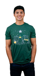 Mens Bear Star Tee