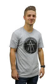 Mens Filled Logo Tee