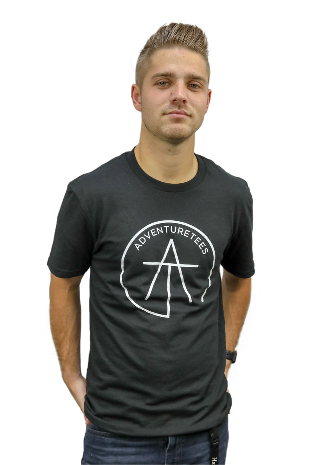 Mens Outlined Logo Tee