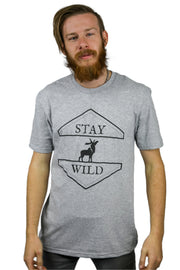 Mens Stay Wild Tee