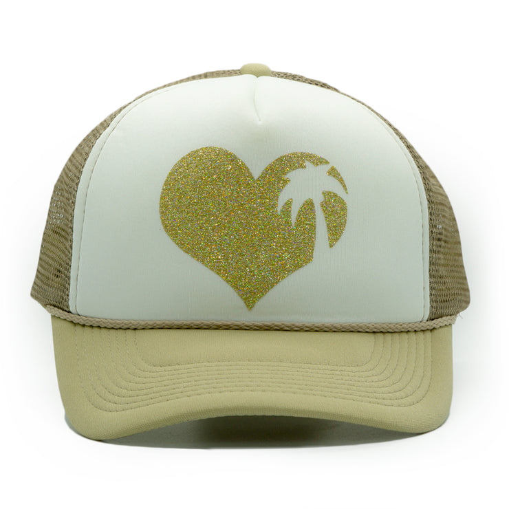 Beach Love Trucker Cap