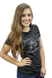 Women's Lets Be Adventurers Tee