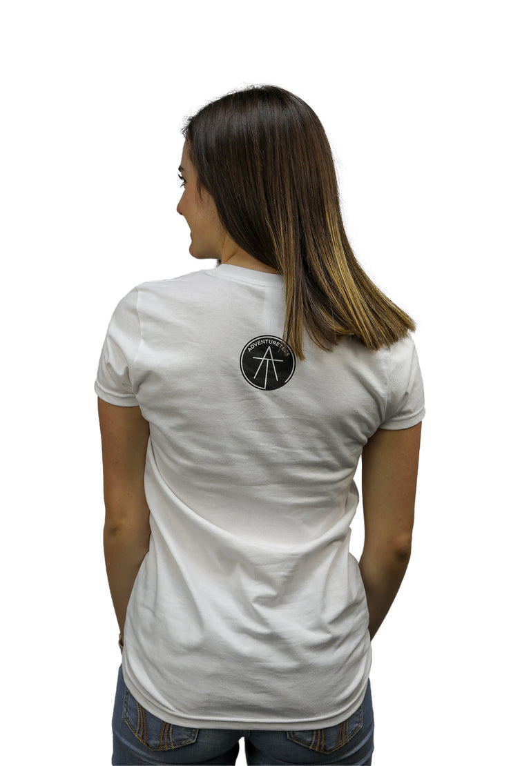 Women's Filled Logo Tee