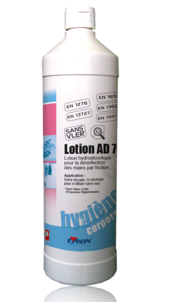 Solution hydro alcoolique bidon de 1L - LOT DE 6