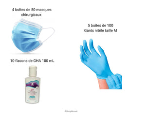 Kit de protection médical