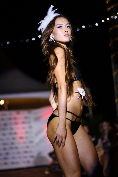 Fleurings sparkles at Kauai Fashion Week
