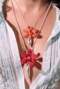 Fleurings Large Vase Necklace