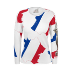 Teaz Girl, French Flag White ( Women's )