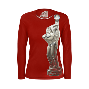 Teaz Dancer Shirt Red ( Womens )