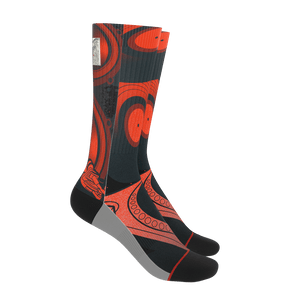 Teaz Red Speaker Socks