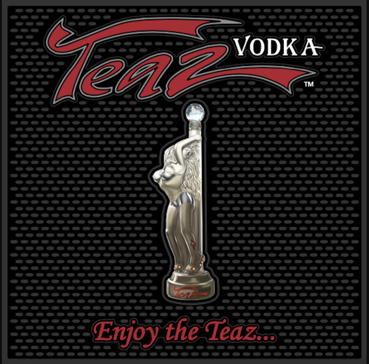 Teaz Vodka Bar & Rail Mat - Teaz Vodka