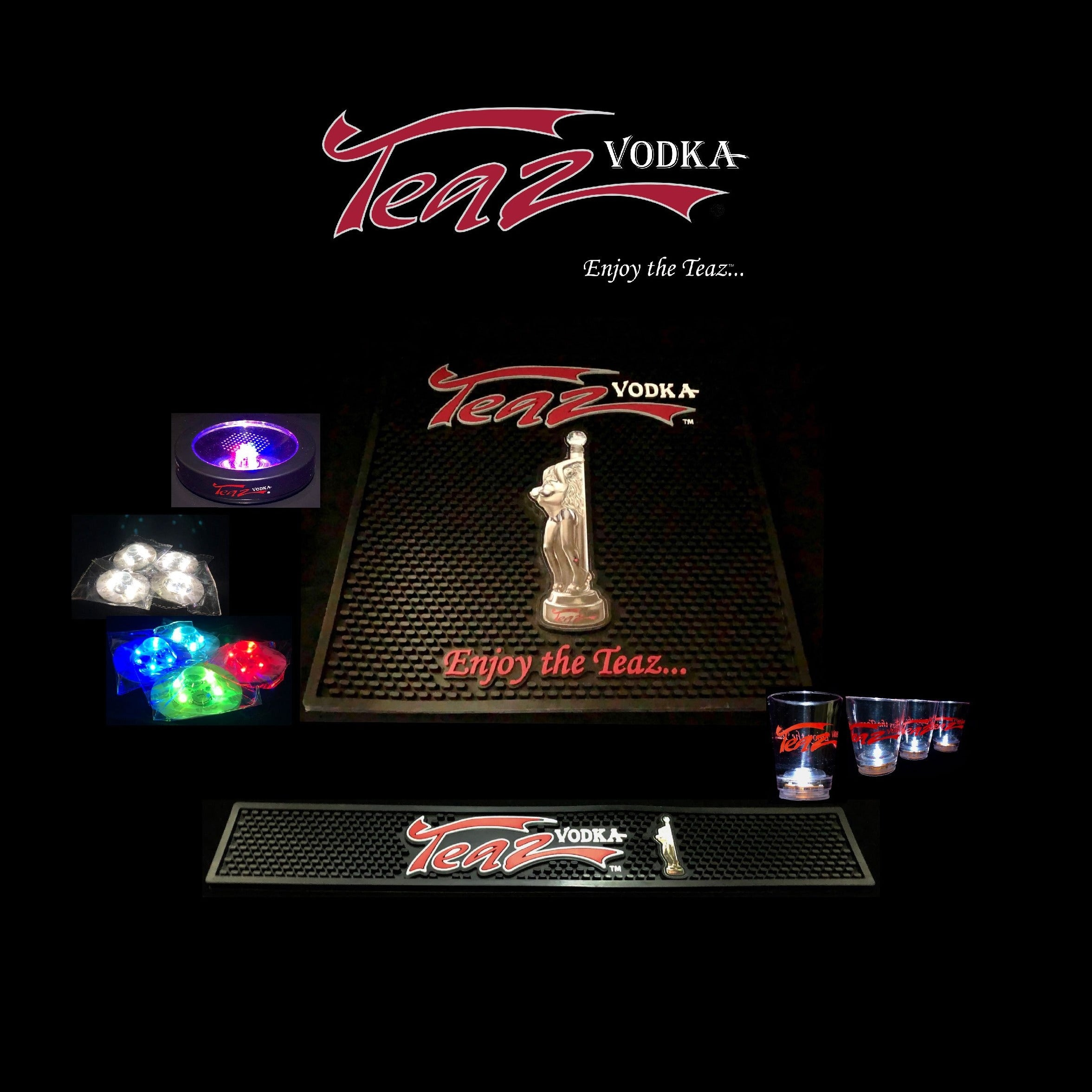 ♦️Teaz Bar & Rail Mat Pack
