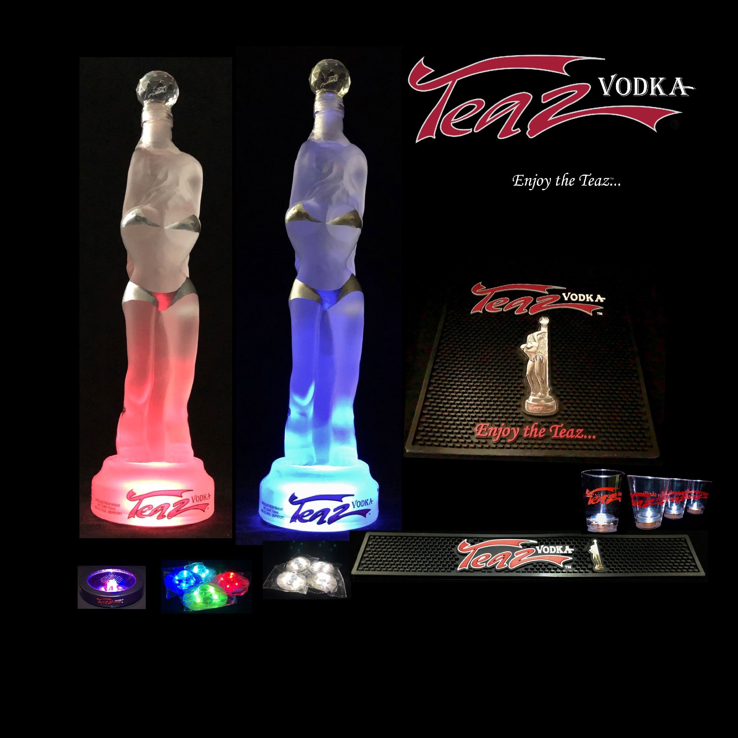 Teaz Vodka Party Pack