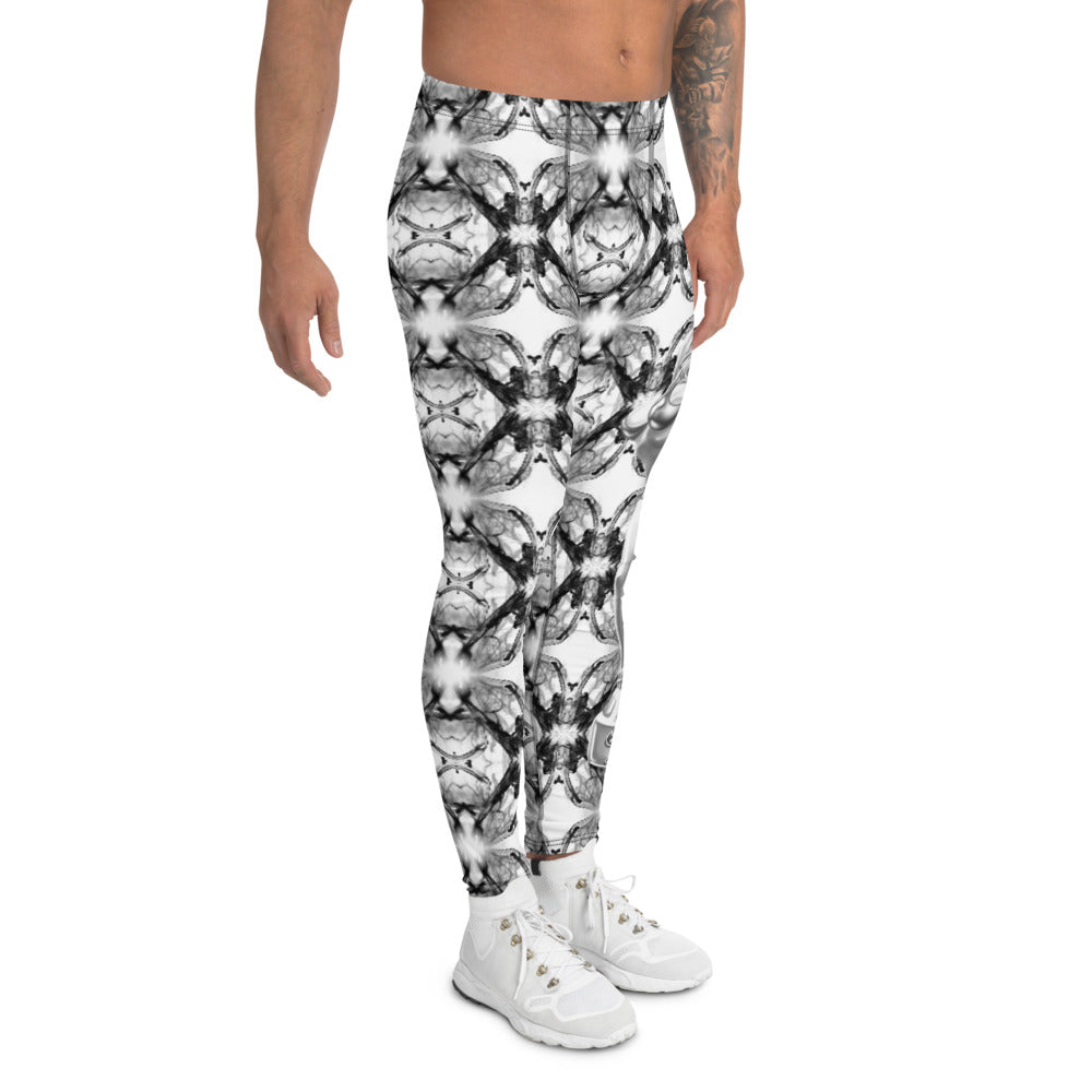 Teaz Black & White Men's Leggings