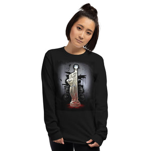 Teaz-Unisex-Long-Sleeve-black-shirt