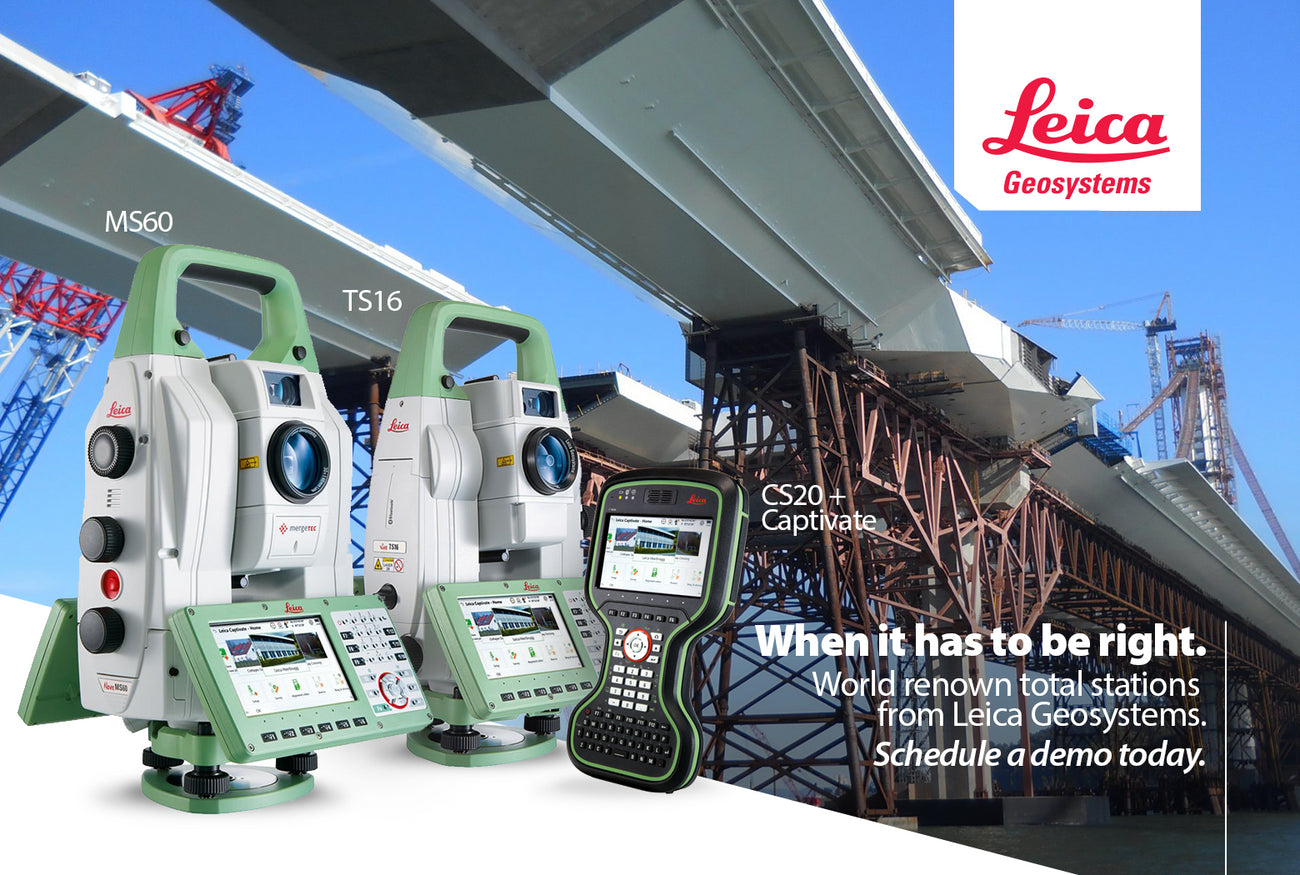 Leica Geosystems, MS60 multistation, TS16, TS13, robotic total station, CS20, Captivate, Infinity, Lewis Instruments, Manitoba, Saskatchewan, Ontario, Canada