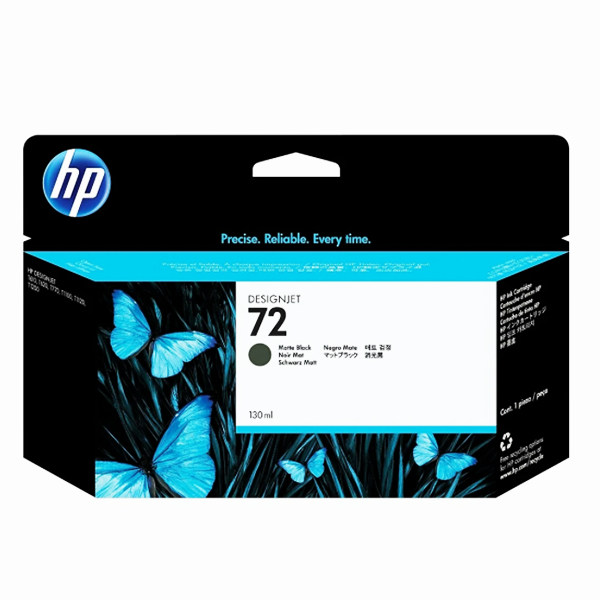 HP 72 Ink Cartridge, 130ML ( VARIOUS COLORS AVAILABLE)