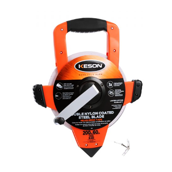 KESON HEAVY-DUTY MEASUREMENT TAPES ( Nylon-Reinforced Steel Blade)