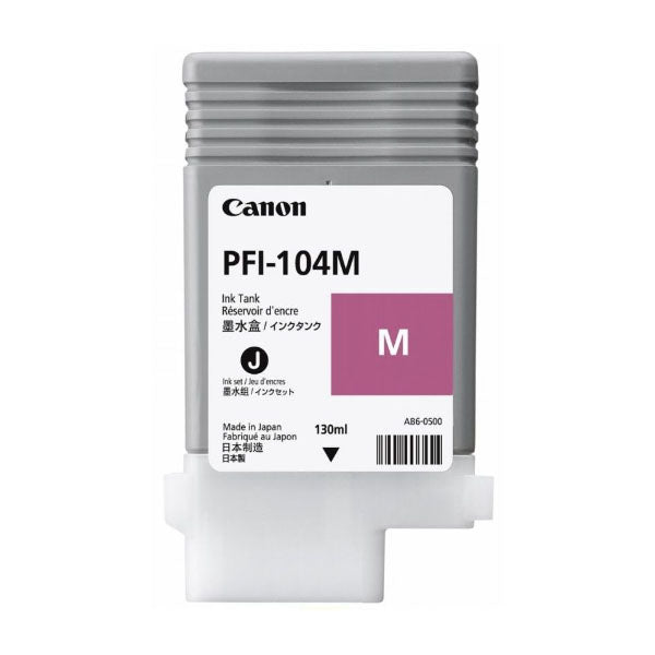 CANON PFI-104M 130ML DYE MAGENTA INK