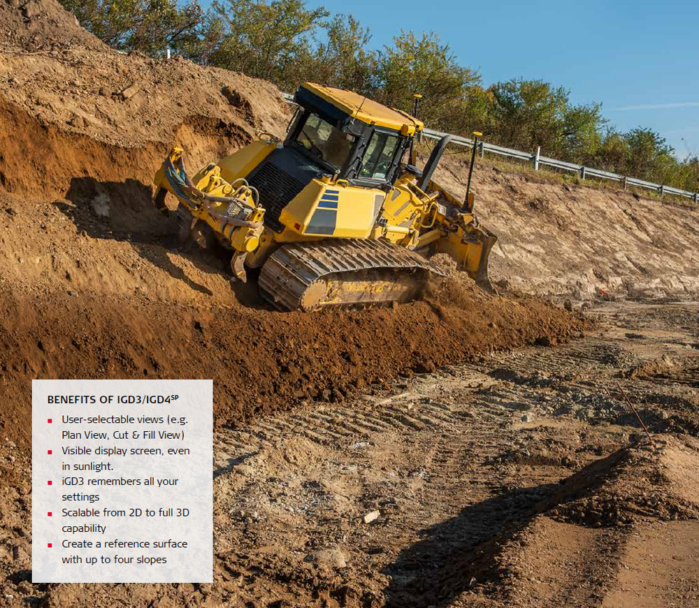 3D Dozer System - iCON iGD4SP