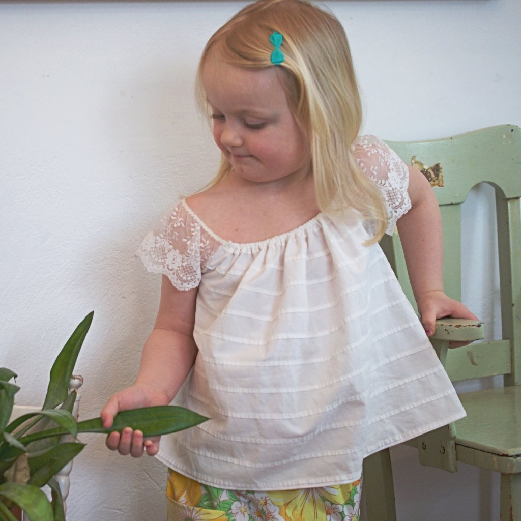 Flower Girl Top