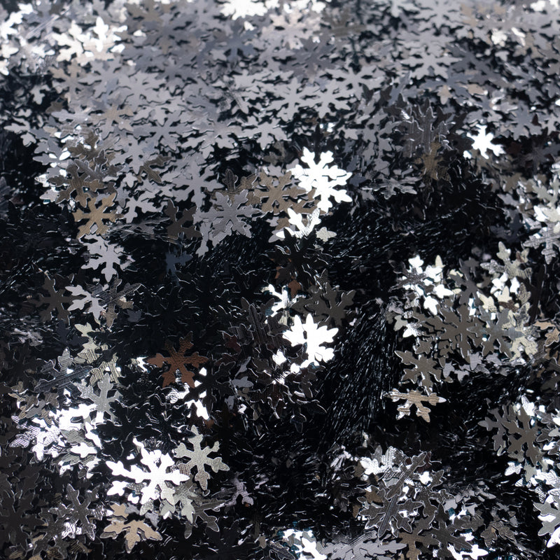 5 (BLACK) (Snow-Flakes & Christmas)