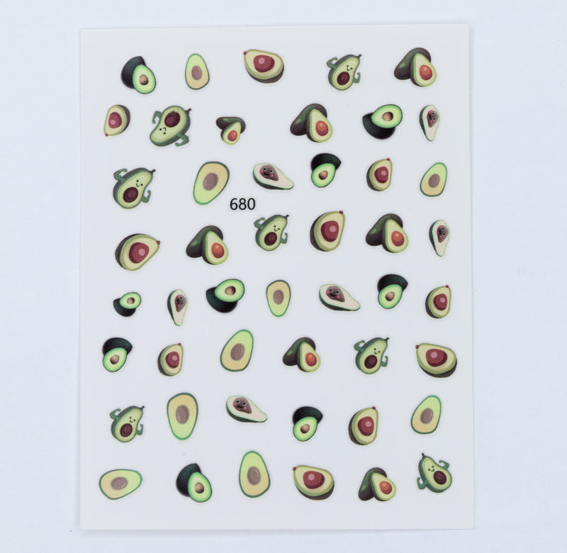 Avocado Decal