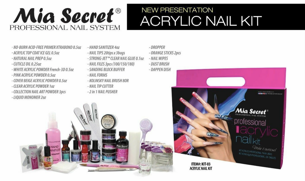 Mia Secret Professional Acrylic Kit
