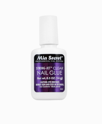 Strong-Jet Clear Nail Glue
