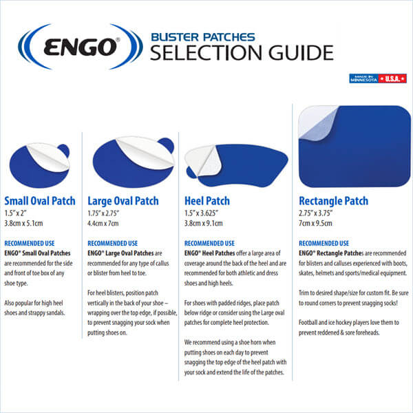 Tips For Applying ENGO Blister Patches To Your Shoes