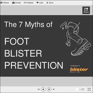 The 7 Myths of Blister Prevention On Feet
