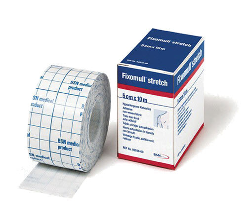 Fixomull Stretch for preventive heel blister taping