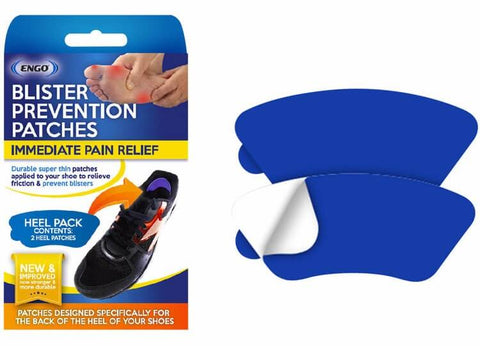 ENGO Blister Prevention Patches Heel Pack