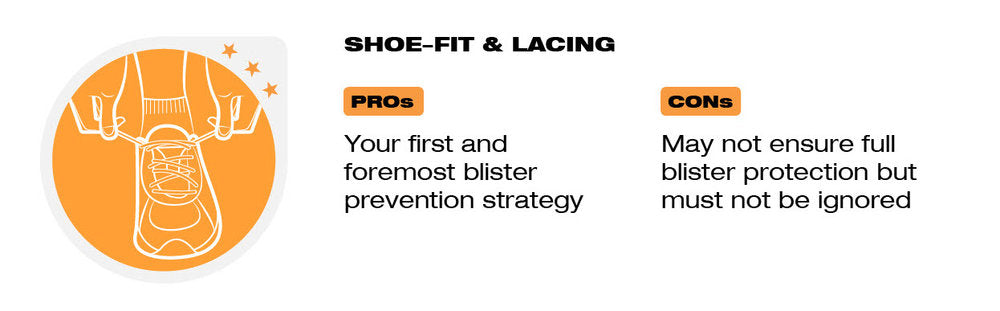 Footwear and blister prevention