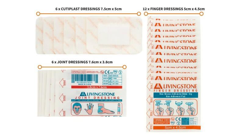 ultra hiking blister kit island dressings