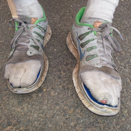 Running shoe modification