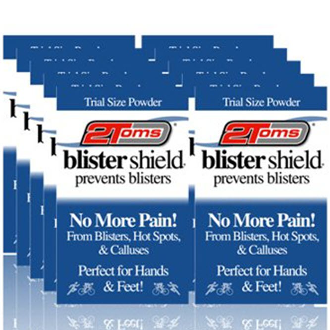 2Toms BlisterShield Powder - 10 trial size sachets