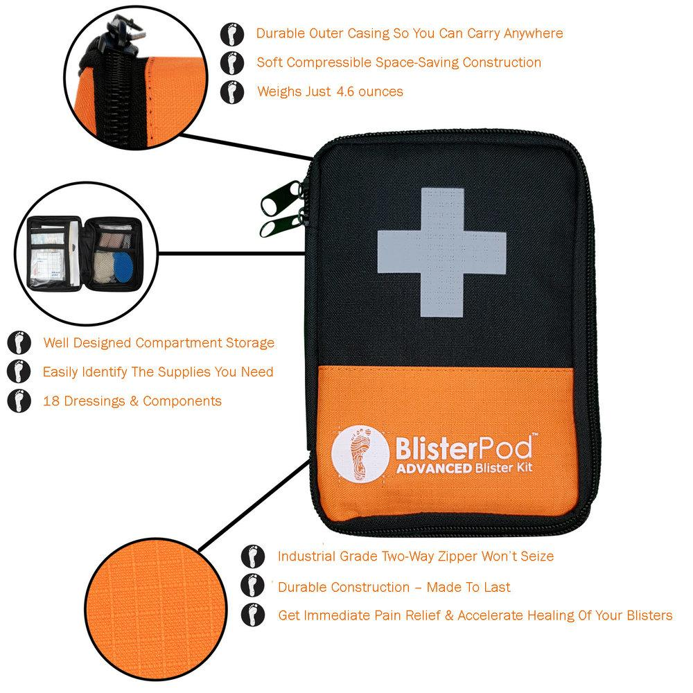 Features of the Advanced Blister Kit