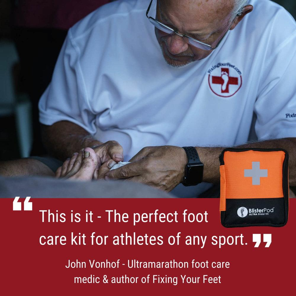 Ultra Blister Kit endorsed by John Vonhof