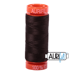 Very Dark Bark Aurifil Cotton Thread (1130)