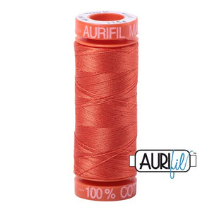 Dusty Orange Aurifil Cotton Thread (1154)