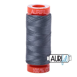 Dark Grey Aurifil Cotton Thread (1246)