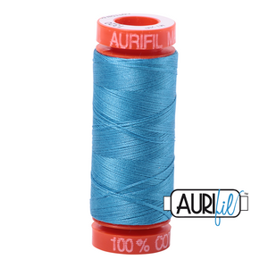 Bright Teal Aurifil Cotton Thread (1320)