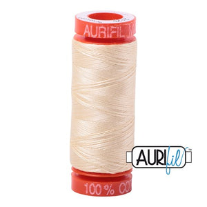 Butter Aurifil Cotton Thread (2123)