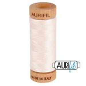 Oyster Aurifil Cotton Thread (2405)