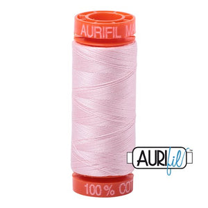 Pale Pink Aurifil Cotton Thread (2410)