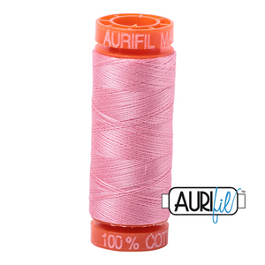 Bright Pink Aurifil Cotton Thread (2425)