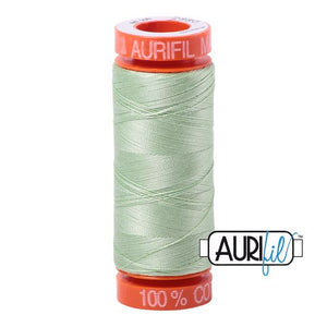Pale Green Aurifil Cotton Thread (2880)