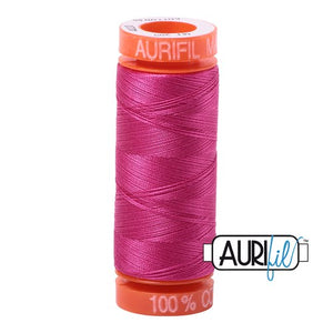 Fuschia Aurifil Cotton Thread (4020)
